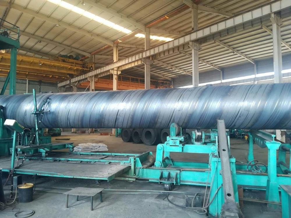 L245管线钢螺旋管