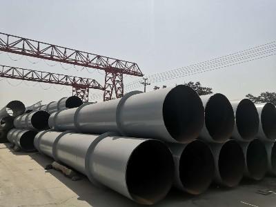 耐酸螺旋钢管ND钢耐硫酸露点腐蚀钢管