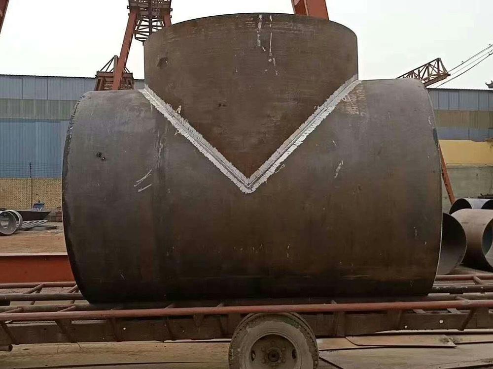 大口径焊接三通2032*12,钢板制焊接三通