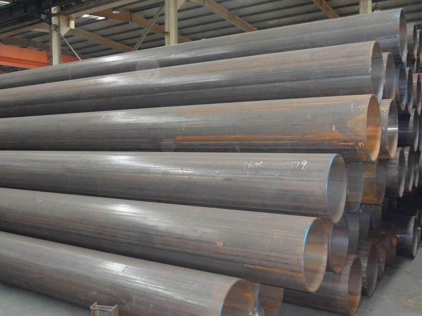 16'' ERW 直缝电阻焊钢管,内刮筋直缝焊管 406.4*7.92 A53 GR B