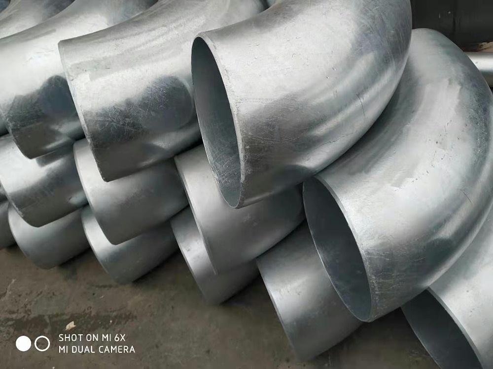 镀锌碳钢弯头,碳钢镀锌弯头DN200*6