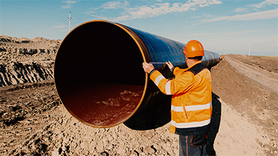 中建七局螺旋焊钢管采购案例