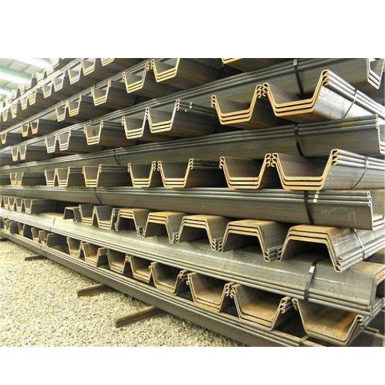 拉森钢板桩,U型钢板桩,热轧钢板桩